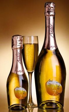 Amber Rouge Grape d'Or - sparkling wine from Spain