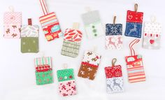 Sew Illustrated: Gift Tag Tutorial - The Jolly Jabber Quilting Blog