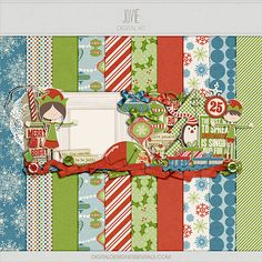Quality DigiScrap Freebies: Jovie mini kit freebie from Digital Design Essentials