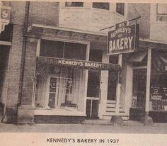 KENNEDY'S BAKERY, 1937