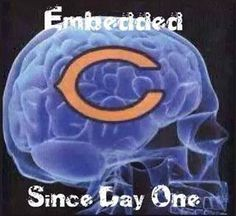 CHICAGO BEARS! That says it all ❤️