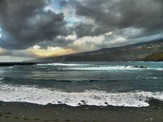 Atardecer en Puerto de la Cruz, costa norte de Tenerife