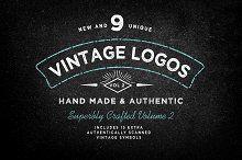Vintage Logo Template Bundle Vol 2