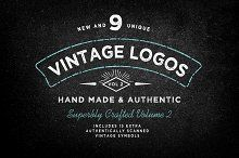 Vintage Logo Template Bundle Vol 2