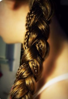 And a super easy way to up your braid game — braid-on-braid action!   15 Ways To Up Your Braid Game