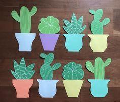 Image result for cactus door decs