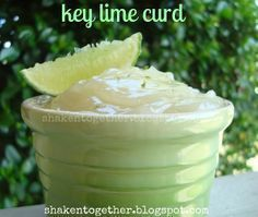 Eggless key lime curd -- adapt for Orange Blossom Macarons & use small amount of milk
