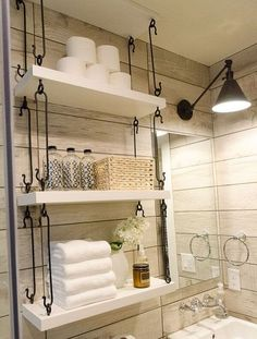 12 Smart Small Bathroom Storage Ideas