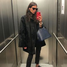 Funky Fashion, Minimal Fashion, Womens Fashion, Street Fashion, Latest Outfits, Cool Outfits, Casual Outfits, Wearing All Black, All Black Outfit