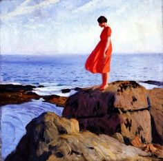 Dame Laura Knight - A Dark Pool. Favourite painting ever.