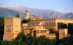 The Alhambra is a Moorish palace in Granada, Spain. Oh The Places You'll Go, Places To Travel, Places To Visit, Wonderful Places, Beautiful Places, Andalucia Spain, Grenade, My Kind Of Town, Islamic World