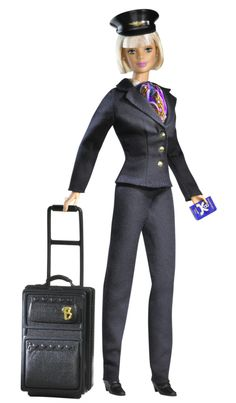 Airline Pilot Barbie