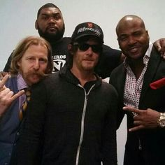 REEDUS & The Prisoners.  Awesome