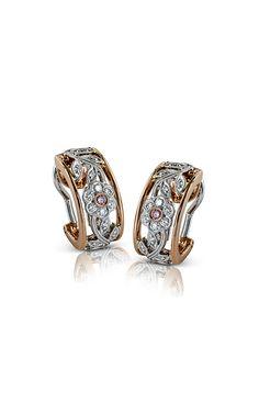 Simon G Garden Earrings Pink Diamond Jewelry, Just Because Gifts, Cufflinks, Fine Jewelry, Fancy, Jewels, Earrings, Accessories, Beautiful
