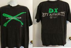 35e0d1d2 WWF D-generation X DX T-Shirt XL WWE VTG '90s Wrestling Attitude Era #ECW