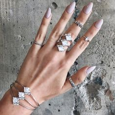 Shine on @child_of_wild in #the2bandits Triple Prism Ring and Cuff + Morning Star Midi Ring | use code 2BSPRINGCLEANING for 40% off at the2bandits.com  ends 3/31