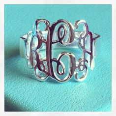 One day.... Maybe one day I will like my initials!