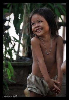 Smile for me!  little girl from Don Det (South Laos)