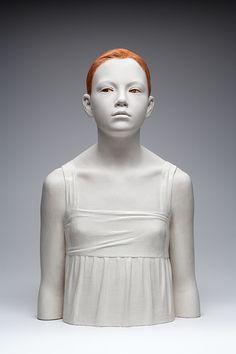 mulheres de madeira - Bruno Walpoth - Milena - cm. 65, wood - 2010