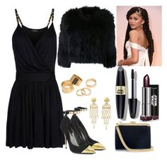 """Star Wars Première"" by thisismegiusy on Polyvore featuring Balmain, H Brand, Max Factor and Pieces"