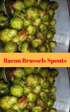 Bacon Brussels Spouts