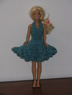Free Patterns Barbie Crochet Wedding Dresses