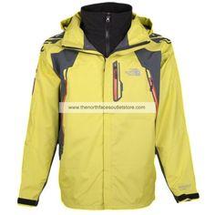 The North Face Yellow Wool Men Denali 001
