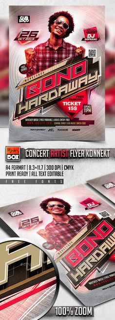 Live Music Flyer Template Music flyer, Flyer template and Template - music flyer template
