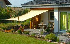#garten #sonnensegel #abendsonne Mit unseren Produkten werden Gartenträume wahr.