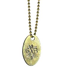 Giles & Brother - G&B Dog Tag Necklace