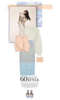 """60-Second Style: Oversized Sweater"" by juhh ❤ liked on Polyvore featuring STELLA McCARTNEY, Acne Studios, Finders Keepers, Valentino, M2Malletier, oversizedsweater, sweaterweather and 60secondstyle"