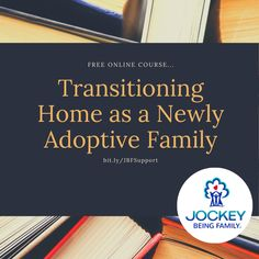 Thanks to the generosity of our partners at the Jockey Being Family Foundation we are offering you 5 FREE courses, including Transitioning Home as a Newly Adoptive Family. Go to bit.ly/JBFSUPPORT and apply the coupon code JBFSTRONG at checkout. #adoption #fostercare #kinshipcare Single Parenting, Kids And Parenting, Child Adoption Center, Kinship Care, Foster Care System, International Adoption, Foster Care Adoption, Family Foundations, Foster Family
