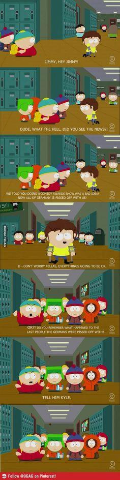 Cartman being Cartman-omg this is soooo meeeean *-*