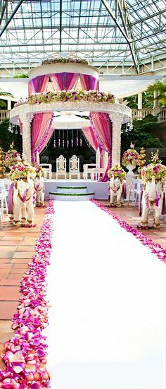 Wedding ● Aisle Decorations http://www.findbestvenue.com/Venue/WeddingSearch.aspx