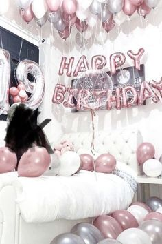 #party #birthday #balloons