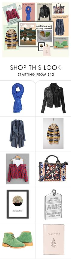 """""""Autumn Attire in Amsterdam: Spekkoek"""" by cranetattoo ❤ liked on Polyvore featuring LE3NO, Chloé, Cleobella, Americanflat, Jet Set Candy, Mark Cross, spekkeok and amsterdamstyle"""