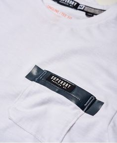 Superdry Surplus Goods Longline Pocket T-shirt White
