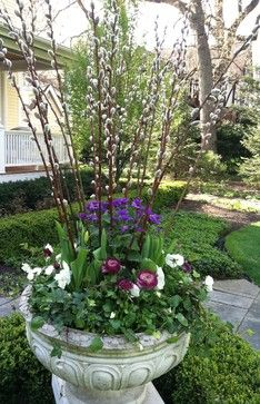 spring porch planters | All Products / Outdoor / Garden Decor / Outdoor Planters