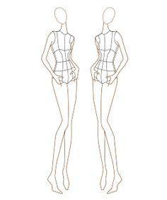 Female Fashion Croquis