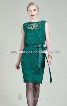 italian tadashi ad | completo di pizzo verde scuro madre della sposa abiti mom004