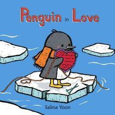 Penguin in Love (Hardcover), White