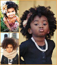 Holiday Peinados para Little Black Girls //  #Black #Girls #Holiday #Little #para #Peinados