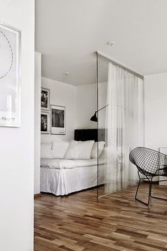 Bedroom build out - Pareti di vetro per interni glass wall interiors - glass decor