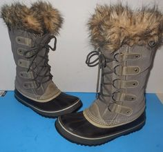 """SOREL JOAN OF ARCTIC"" $170 Boots-Sz 10 $129.99 Very Fast Shipping to You! #Sorel #FashionCasualSnowHeavySnow"