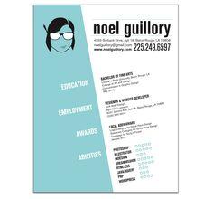 graphic design resume - Google Search