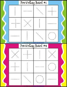 This activity is visual motor bingo. This requires children to identify what object is being called and trace the object using eye hand coordination. Helps with visual motor, visual perceptual and fine motor skills. Preschool Writing, Preschool Learning, Early Learning, Preschool Activities, Teaching, Visual Motor Activities, Therapy Activities, Handwriting Activities, Kindergarten Handwriting