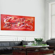 Red Abstract paintings | Modern abstract art, red abstract by Paresh Nrshinga www.artnrshinga.com