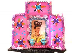 Frida Kahlo Matchbox Art by CherryPicks on Etsy