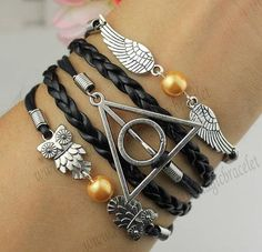 Harry Potter and the Deathly Hallows Braclet <3 -Kirstian