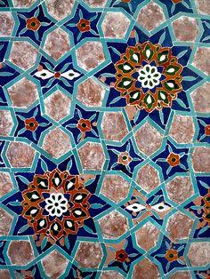 mosaic [probably islamic origins]